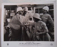 Gunga Din, Original Movie Still, Cary Grant, Joan Fontaine, Fairbanks Jr, '39